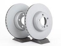 ES#2771095 - 34116792223zKT - Front Brake Rotors - Pair  - Featuring Zimmerman's