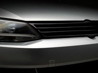 ES#3005988 - 014280ECS01A01 - Badgeless Grille - Fiberglass - Gloss Black - Add custom styling with this bolt-on Badgeless grille! - ECS - Volkswagen