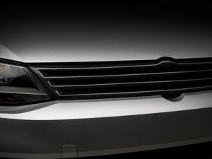 ES#2992561 - 014280ECS01A-02 - Badgeless Grille - Carbon Fiber - (NO LONGER AVAILABLE) - ECS - Volkswagen