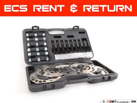 ES#2992752 - 001202ecs03lktKT - Wheel Spacer Fitment Kit - Rent & Return - The ultimate in try-before-you-buy! Test fit spacers, return the kit, and we'll refund you $110.00 toward your next purchase! - ECS - Audi BMW Volkswagen Mercedes Benz MINI Porsche