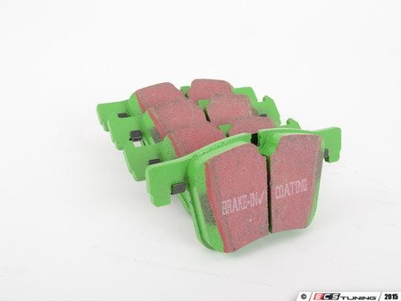 ES#2619903 - DP62105 - front GreenStuff Performance Brake Pad Set - Designed as a mildly upgraded pad, great for an afternoon of sporty driving. - EBC - BMW
