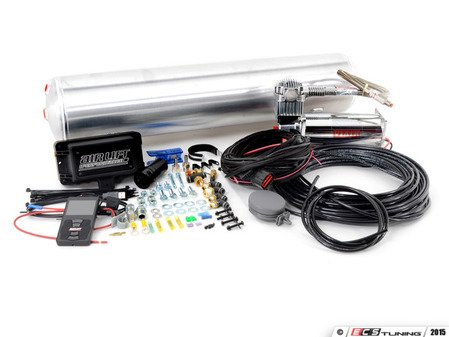 """ES#2966740 - 27682 - Universal Air Lift Performance 3P Kit - 1/4"""" Air Line  - The most advanced pressure based controls with 1/4"""" lines and a 4 gallon tank - Air Lift - Audi BMW Volkswagen Mercedes Benz MINI Porsche"""