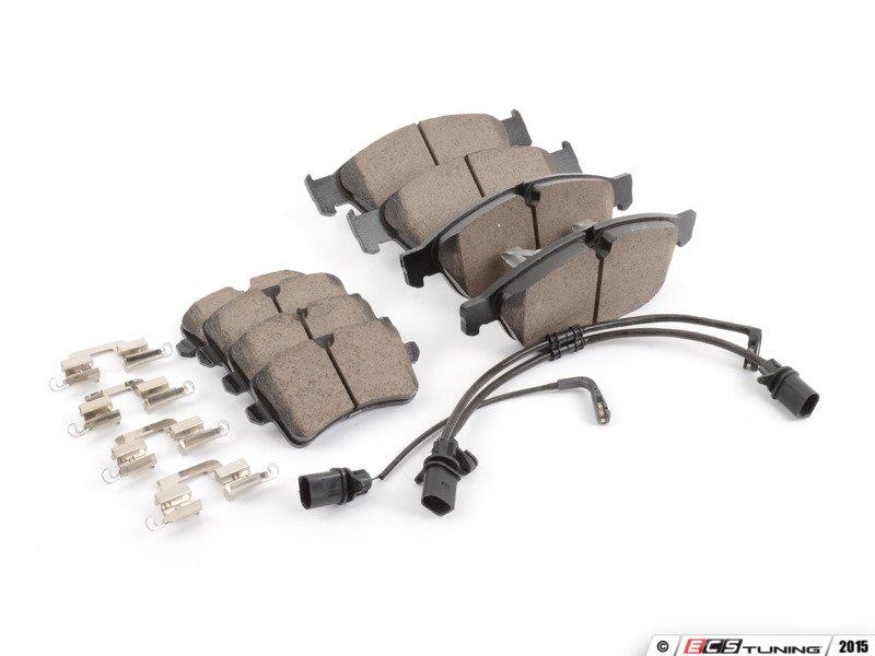 Akebono 4g0698151bkt Front Amp Rear Euro Ceramic Brake
