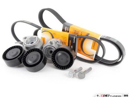 ES#2862358 - 11287539831KT - Accessory Belt Service Kit - Utilizes high quality aftermarket components - Assembled By ECS - BMW