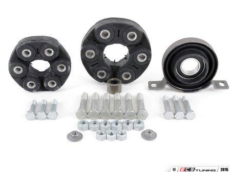 "ES#2763356 - 26117503159kt1 - Universal Flex Disc Kit  - Includes ""Giubos"", center mount, and hardware - Assembled By ECS - BMW"