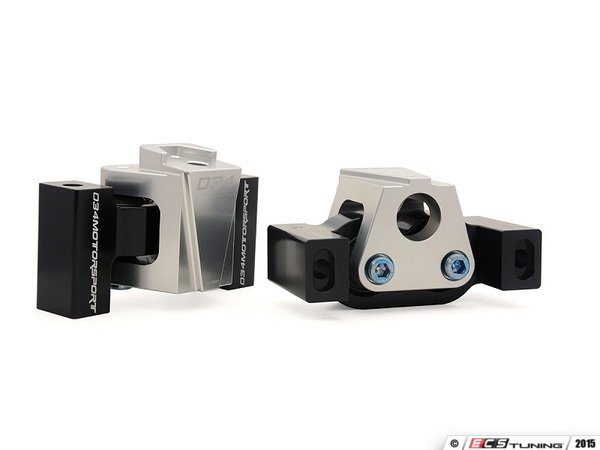 ES#2993008 - 034-509-0047 - Billet Aluminum Motorsport-Spec Engine Mounts - Density line rubber damping to maximize strength and durability - 034Motorsport - Audi