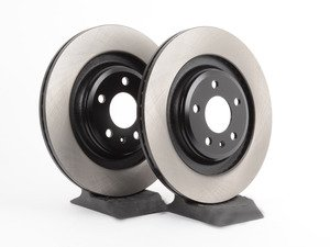 ES#2747912 - 4H0615601HKT3 - Rear Brake Rotors - Pair (330x22) - Restore the stopping power in your vehicle - OP Parts - Audi