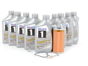 ES#2770135 - 119180000967KT - Engine Oil Service Kit - With 0W-40 Engine Oil - Everything you need to perform an engine oil service - Genuine Mercedes Benz - Mercedes Benz