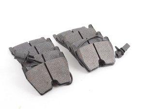 ES#514161 - HB609z.572 - Performance Ceramic Front Brake Pad Set - Premium high performance low dust/noise compound - Hawk - Audi