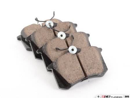 ES#1844151 - eur340a - Rear Euro Ceramic Brake Pad Set - Ceramic composite developed to meet low dust & noise requirements - Akebono - Audi Volkswagen