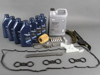 ES#2739345 - 11317584084KT2 - Timing Chain Kit  - Everything you need to perform a complete timing chain service - Assembled By ECS - BMW