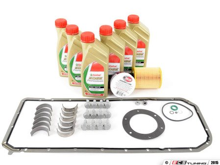 ES#2992680 - 11247835439KT3 -  WPC Performance Rod Bearing Replacement Kit  - Includes everything needed for a rod bearing service, featuring WPC treated rod bearings. - Assembled By ECS - BMW
