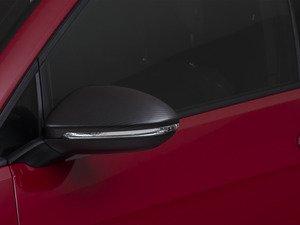 ES#2972801 - 014281ECS04A -  Mirror Cap Set - Carbon Fiber  - Add a unique, lightweight look to your ride - ECS - Volkswagen