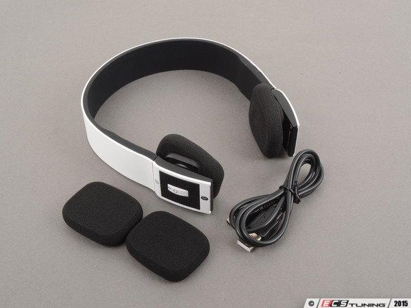 Genuine volkswagen audi acmahp120wht rechargeable for Mercedes benz bluetooth headphones