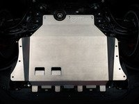 "ES#2986429 - 011768ecs01KT -  ECS Tuning Aluminum Street Shield Skid Plate Kit - Protect your vehicle's fragile plastic oil pan and under carriage with this 3/16"" (4.76mm) thick aluminum skid plate - ECS - Audi Volkswagen"