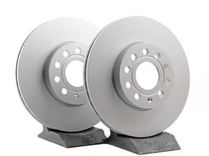 ES#2855131 - 1k0615301tateKT - Front Brake Rotors - Pair (288x25) - Restore the stopping power in your vehicle - ATE - Audi Volkswagen