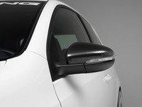 ES#2776773 - 007461ECS03 - Mirror Cap Set - Carbon Fiber  - Add a unique, lightweight look to your ride - ECS - Volkswagen
