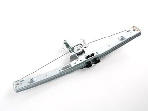 ES#2960784 - 51358212099 - Rear Window Regulator - Left - With ball bearing pulleys and lifetime warranty - URO Premium - BMW