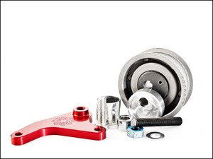 ES#2794197 - IEBEVA5S15 - Manual Timing Belt Tensioner Kit - Stage 1.5 - Replace your failure prone gas-charged timing belt tensioner with this billet mechanical belt tensioner kit from Integrated Engineering. - Integrated Engineering - Audi Volkswagen