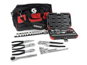 ES#2996480 - 014121sch01aKT - Schwaben 68 piece Zippered Tool Bag Kit - Get this ready to go extensive tool set complete with tool bag. - Schwaben - Audi BMW Volkswagen Mercedes Benz MINI Porsche