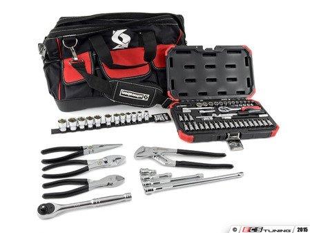 ES#2996480 - 014121sch01aKT - Schwaben 68 piece Zippered Tool Bag Kit - Get this ready to go extensive tool set complete with tool bag. - Schwaben - Audi BMW Volkswagen Mercedes Benz MINI Porsche