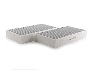 ES#2896707 - 164830021864 - Activated Charcoal Cabin Filters - Set Of Two - Filters the air before it enters the cabin of your vehicle - Vemo - Mercedes Benz