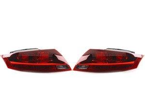 ES#2748912 - 8J0945095EKT - Tail Light Set - Black  - Includes both tail light assemblies - ULO - Audi