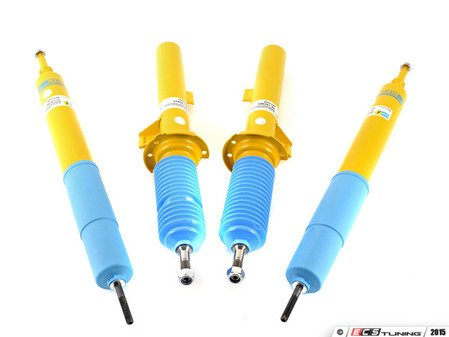 ES#2996431 - 24-120395KT - B6 Performance Shocks & Struts Kit - Unbelievable control, precise handling, ultimate performance and incredible comfort. German-made with world-famous Bilstein quality and a limited lifetime warranty! - Bilstein - BMW