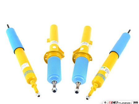 ES#2996432 - 24-120425KT1 - B8 Performance Plus Shocks & Struts Kit - Compliments factory sport package or lowering springs with a remarkably comfortable sport ride. World-famous Bilstein quality with a limited lifetime warranty! - Bilstein - BMW