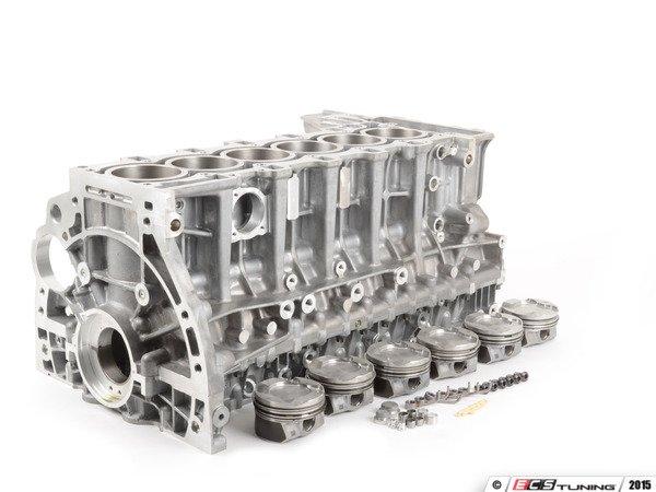genuine bmw  engine block  pistons