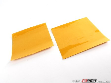 "ES#1896430 - 2-1212-Y - Two 12"" X 12"" Universal Film -Yellow - Headlight, tail light, foglight film - Lamin-X - Audi BMW Volkswagen Mercedes Benz MINI Porsche"