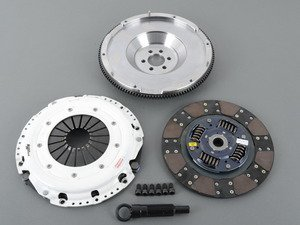 ES#2830762 - 17820HDFFD - Volkswagen Golf R Heavy duty pressure plate. Fiber Friction lined disc. Dampened disc (must be used with single mass flywheel). Hydraulic slave cylinder sold separately - Stage 3+ Clutch Kit with dampened disc/FX350 - Clutch Masters -
