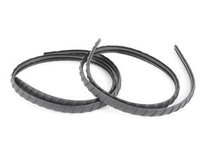 ES#3579996 - 4G9071633A - Roof Rack Rubber Strip - Fluted  - Replace the cracked and breaking strip on your roof rack. - Genuine Volkswagen Audi - Audi