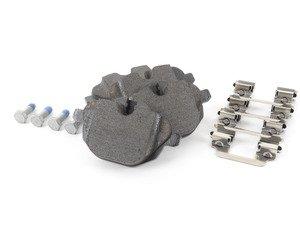 ES#2996532 - 34216796741 - Rear Brake Pad Set - A high quality alternative to OEM brake pads - Textar - BMW