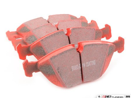 ES#517871 - DP31035c -  RedStuff Performance Brake Pad Set - A high performance street pad, featuring Kevlar technology. - EBC - Audi BMW Volkswagen Mercedes Benz
