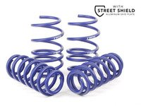 ES#2996715 - 50340KT - H&R Sport Springs WITH ECS Street Shield - Upgrade looks and handling with sport springs while adding protection with the ECS Tuning Aluminum Street Shield - Assembled By ECS - Audi