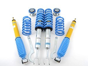 ES#2984041 - 47-119444 - B14 Coilover Suspension Kit - Ride height adjustability that lowers 10-30mm front and rear - Bilstein - Audi