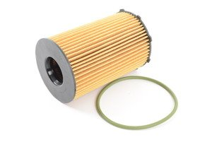 ES#2992566 - 95810722220 - Oil Filter Element - Includes o-ring - Mahle - Porsche