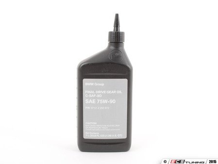 ES#2562683 - 07512293972 -  Differential Fluid - 1 Liter - For vehicles with open/non-limited slip differentials - Genuine BMW - BMW MINI