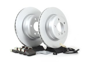 ES#2649819 - 34216855003-KT2 - Rear Brake Service Kit - Featuring OEM BMW rotors and OEM BMW pads - Genuine BMW - BMW