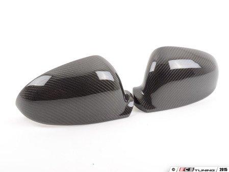 ES#2992113 - 014300ECS05A-04 -  Mirror Cap Set - Carbon Fiber - (NO LONGER AVAILABLE) - Add a unique, lightweight look to your ride - ECS -