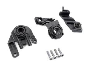 ES#252758 - 1K0998226 - Headlight Repair Kit - Right - Includes the two lower tabs and the one located by the highbeam - Genuine Volkswagen Audi - Volkswagen