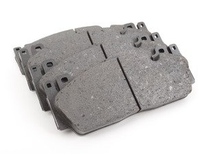 ES#2744516 - 34112284970 - Carbon Ceramic Front Brake Pad Set - Restore braking performance and stop safely - Genuine BMW - BMW
