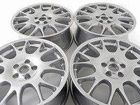 "ES#2960602 - 8P0601025R1H7kt - 18"" Split 7-Spoke Wheels - Set Of Four - 18""x7.5"" ET54 5x112 Silver - Genuine Volkswagen Audi - Audi"