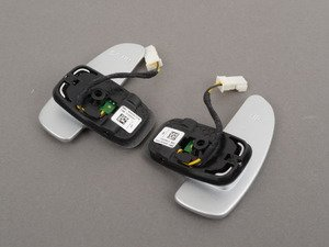 ES#1790229 - 2212670046 - Paddle Shifter Set - Located on the steering wheel - Genuine Mercedes Benz - Mercedes Benz