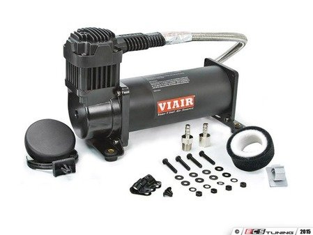 ES#2997008 - 16444B - Viair 444C Compressor - 200 PSI - Black - 12v compressor with a duty cycle of 100% & 200psi max pressure - Air Lift - Audi BMW Volkswagen
