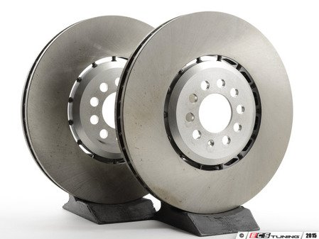 ES#2765394 - 1j0615302akt - Front Brake Rotors - Pair (334x32) - Restore the stopping power in your vehicle - ATE - Audi Volkswagen
