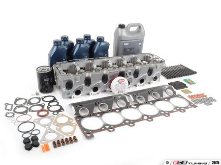 ES#2918762 - 11121707032-2KT - Complete Cylinder Head Basic Replacement Kit - Everything you will need to do a head service on your BMW - Assembled By ECS - BMW