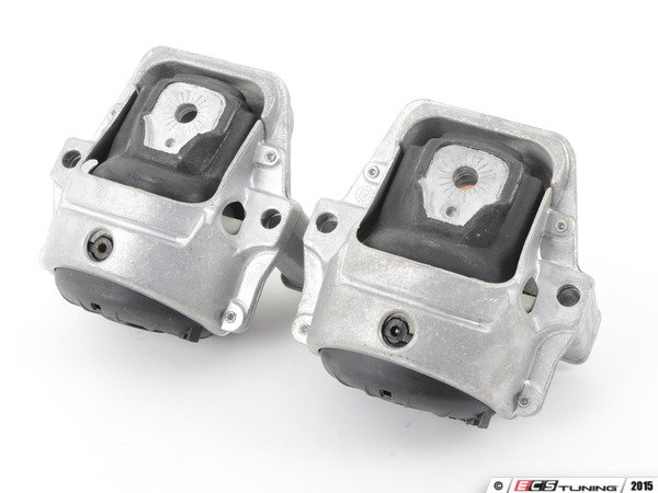 ES#2996824 - 034-509-5010-SD - Street Density Line Motor Mounts Kit - Void-free and fluid-free, eliminating the slop associated with the factory mounts - 034Motorsport - Audi