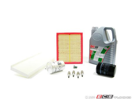 ES#1564 - B5PAEB40KSK - 40k scheduled Service Kit  - Everything you need to perform the recommended 40k mile service - Assembled By ECS - Audi Volkswagen